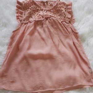 Fall Sale! Pink ladies blouse size medium